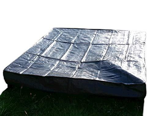 GardenSkill 2in1 Raised Bed Liner/Cover (15cm High x 1m Long x 1m Wide)