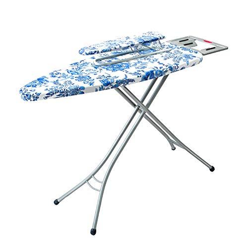 XiuHUa Strijkplank, strijkplank en mouwplank, twee sets opvouwbare strijktafel kan worden verhoogd en verlaagd, hefhoogte is 68-79cm Strijkplank