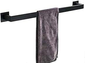 Homovater SUS 304, toiletpapierhouder, zwart, zelfklevend, roestvrij staal Handtuchhalter