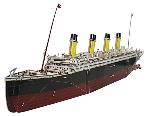 Titanic Collectors 3d 287Pc Model/Puzzle sg