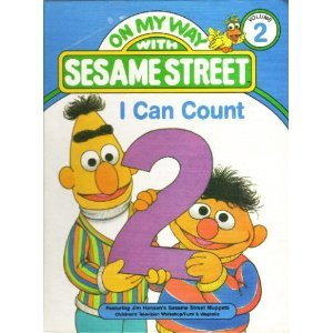 Unbound I can count: Featuring Jim Henson's Sesame Street Muppets (On my way with Sesame Street) Book