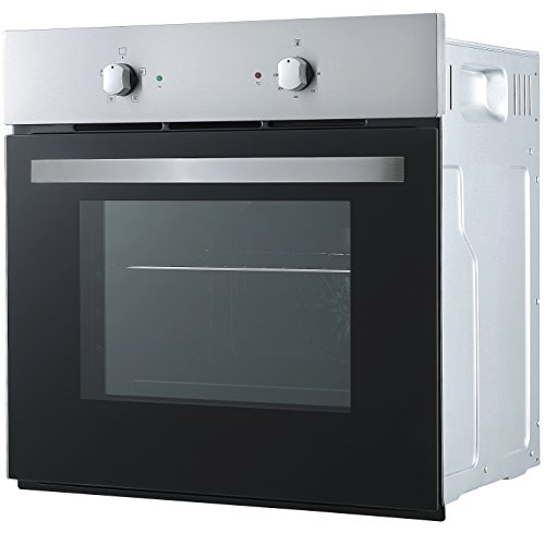 Cookology SFO57SS 60cm Built-in Single Electric Fan Oven in Stainless Steel