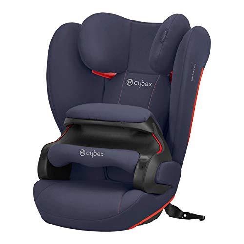 CYBEX Silver Kinder-Autositz Pallas B-Fix, Für Autos mit und ohne ISOFIX, Gruppe 1/2/3 (9-36 kg), Ab ca. 9 Monate bis 12 Jahre, Bay Blue