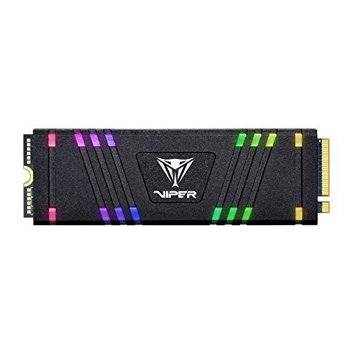 Patriot Viper VPR100 M.2 2280 PCIe 256GB - Unidad de Estado sólido RGB iluminada RGB VPR100-256GM28H