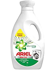 Ariel Matic Liquid Detergent Front Load 2 Ltr + 500 ML Free