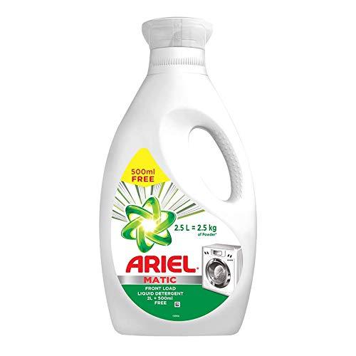 Ariel Matic Liquid Detergent Front Load 2 Litres And 500 Milliliter Pack