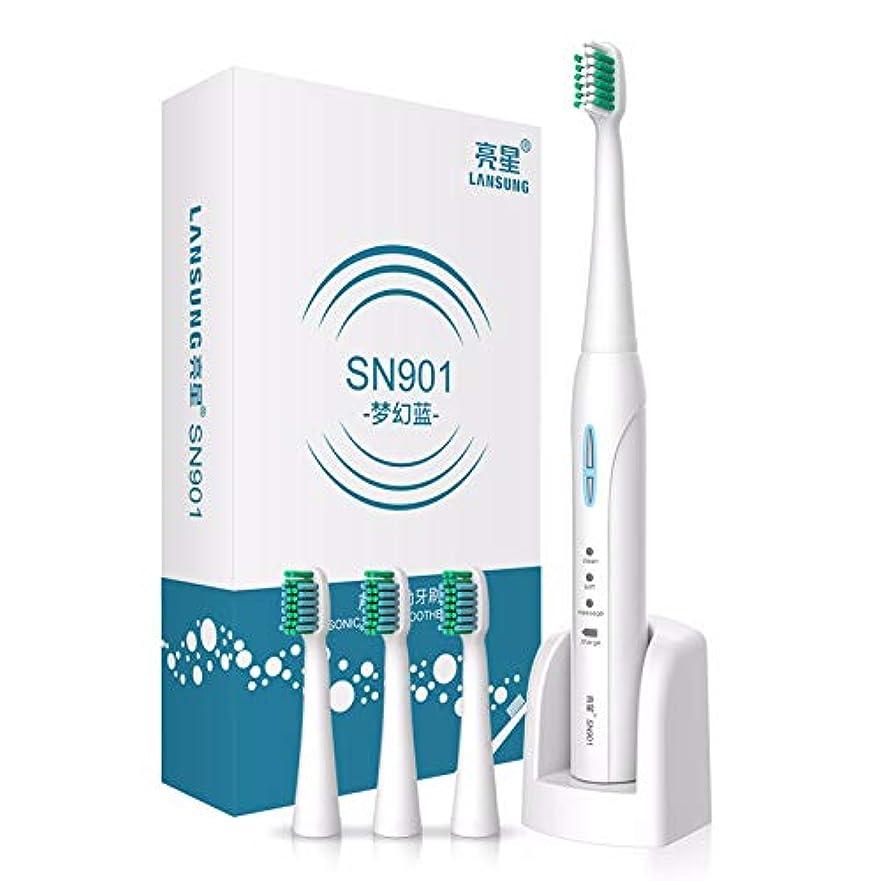 ハロウィンジム芝生超音波電動歯ブラシを充電する電動歯ブラシSN 901大人の誘導,B