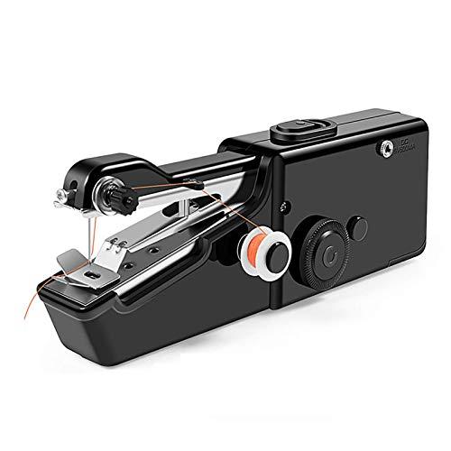 Maquina de Coser electrica, Mini Máquina de Coser se Utiliza for Manualidades de Ropa de Bricolaje y Telas Infantiles. Asistente de Viaje Familiar