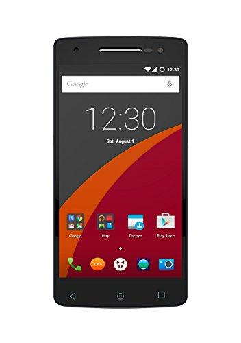 Wileyfox Storm 4G Dual-SIM Smartphone (5,5 Zoll (13,97 cm) Bildschirm, 32 GB Speicher, Cyanogen OS 12.1) Sandstein-Schwarz