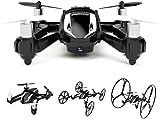 DBPOWER Hawkeye-I RC Quadricoptère 2.4GHz 4CH 6 Axes Boucle/Vrille 3D avec Caméra HD 2MP et Protections pour les Débutants