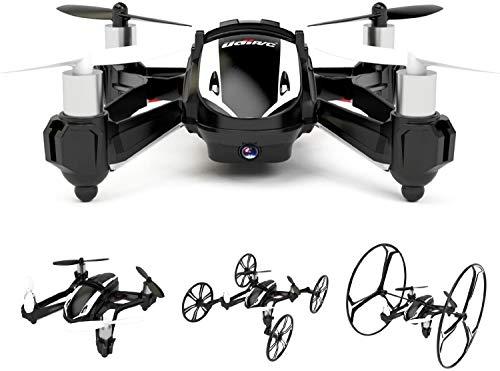 DBPOWER Hawkeye-I 3D Flip 2,4GHz 4CH 6 Achsen RC Quadcopter Drone mit 2 Megpixel HD Kamera & Schutz für Anfänger