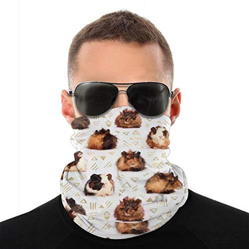 Carolyn Berns Mole turban-sjaal, multifunctioneel, hoog ademend vermogen, hoge elasticiteit voor het gezicht, stofdicht, windbescherming, zonwering, uniseks