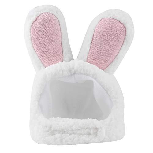 Zerodis Cappello per Costume da Gatto Carino, Cappello Morbido e Confortevole a Forma di Orecchio di Coniglio per Cucciolo di Animale Domestico Gattino Costume Cosplay Vestito da Festa di Natale