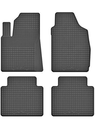KO-RUBBERMAT Gummimatten Fußmatten 1.5 cm Rand geeignet zur FIAT Panda III (Bj. ab 2012) ideal angepasst 4 -Teile EIN Set
