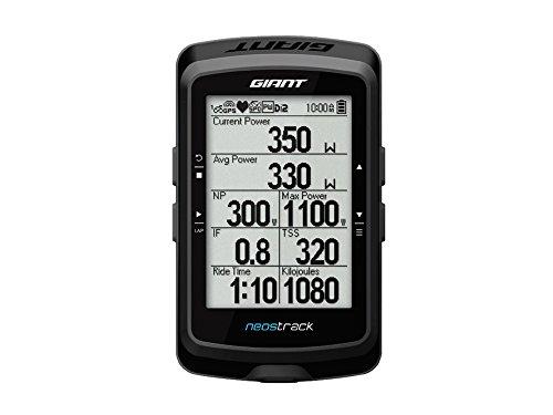 Giant Neostrack GPS de vélo ANT + Bluetooth Noir