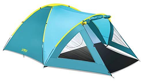 Bestway Pavillo Zelt Active Mount 3 350x240x130 cm, Trekkingzelt mit Vordach für 3 Personen, schnell aufbaubares Camping Zelt