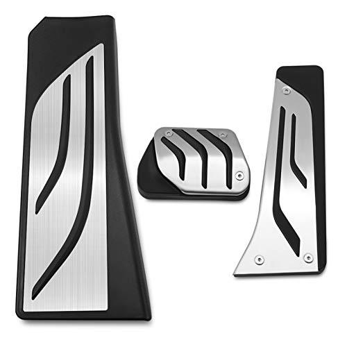 MeiZi Non-Drilling! Gas-Kraftstoff-Brems Fußraste Pedalplatte Pad at Fit for BMW New 1 2 3 4 5 6 7 Series GT X3 X5 X6 F15 F16 E70 E71 E72 (Color Name : X3X4 Z4 5 6 7 Series)