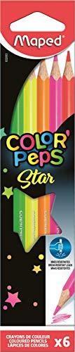 Maped Color Peps Fluo - Lápiz (6 pieza(s)) fluorescentes. MAPED 832003