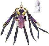 Fate/Grand Orderr FGO カーマ コスプレ Kama 衣装 コスチューム 霊基再臨第二段階 ウィッグ追加可能 (衣装, S)
