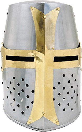 Szco Supplies Brass Crusader Helmet by SZCO Supplies