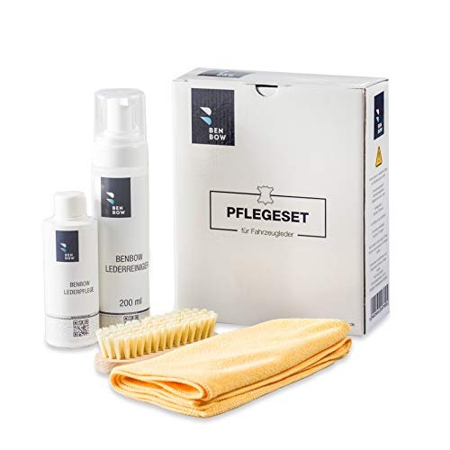 BENBOW Kit d'entretien intensif du Cuir - Protection UV - Car Care Products