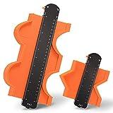 Medidor de Contornos con Bloqueo, Calibrador de contorno con dispositivo de bloqueo, ajustable Dispositivo de medición de contorno, preciso Herramienta duplicadora para perfiles irregulares