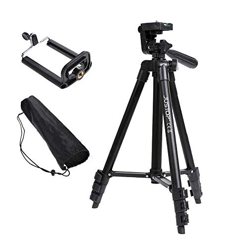 JUSTOP Tripod Stand Phone Holder, Aluminum Light Weight, For Digital...