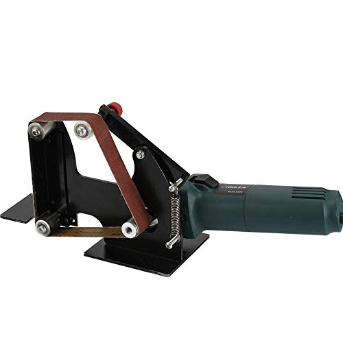 KKmoon Cabeza de Amoladora Angular Multifuncional,Cabezal de Lijadora Combinada,Lijadora de Banda,Pulidora con Conector M10