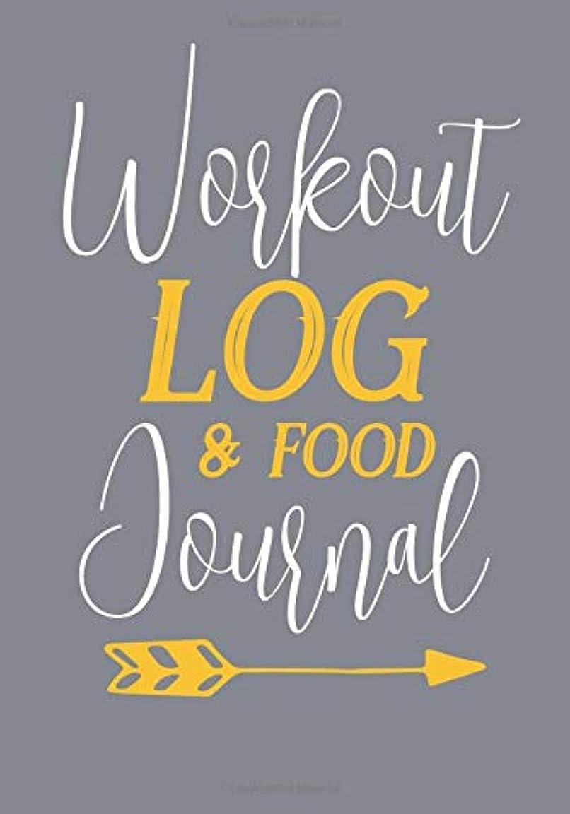 悔い改めるに応じて気球Workout Log & Food Journal: Weight Loss Diary