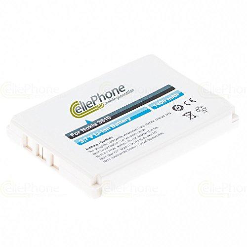 cellePhone batería Li-Ion para Nokia 1220 1260 3310 3330 3350 3410 3510 3560 3810 5510 6010 6800 (reemplazado BLC-2 / BLC-1 / BMC-3)