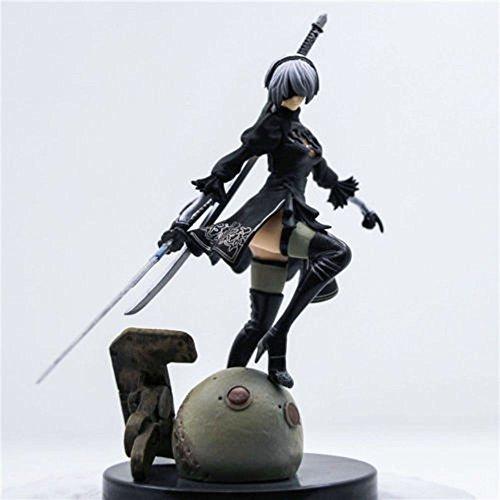 CG Yorha 2B Figur, Nier:Automata Version mit beiden Schwertern