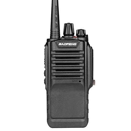 Mengshen Baofeng Walkie Talkie 8W IP67 Waterproof BF-9700 Dustproof UHF 400-520MHz, with High Gain Antenna, High-Powered Big Power 2500mAh