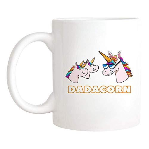 N\A Taza Divertida del papá del Unicornio, Taza mágica Linda del papá del Unicornio, Taza/Taza de café de la Novedad