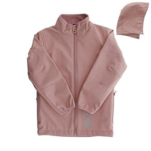 MINYMO Kinder Softshell-Jacke für Mädchen, Alter: ab 7 Jahren, Größe: 122, Farbe: Rosa (Zephyr), 4640