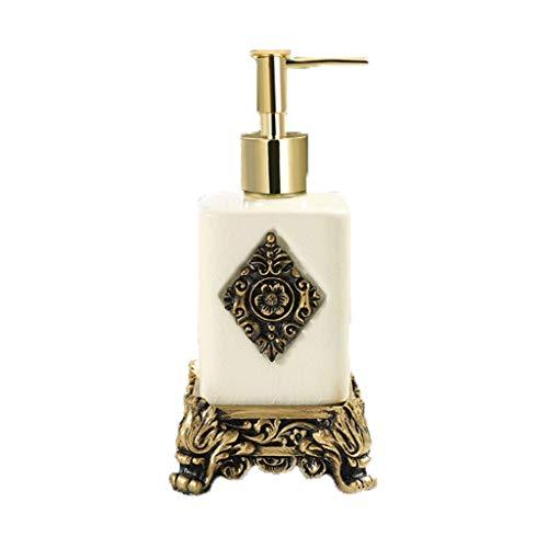 Aveo Schaumseifenspender Keramik Seifenspender Küchenspüle und Bad, Shampoo und Seifenspender Handseife, Waschmittel, sicher und hygienisch Duschlotionsspender (Größe : A)