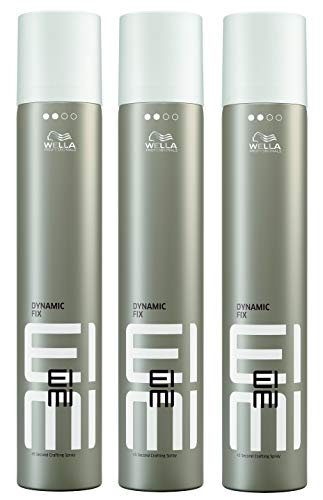 3er Dynamic Fix 45 Seconds Styler Wella Profesionals EIMI Styler Modellier Haar Spray 500 ml