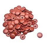 Screw Cap Covers Karcy Brown Screw Head Covers Plastic Screw Cover Caps for Phillips and Square-X Fit for Hole 0.24' Dia. Set of 100