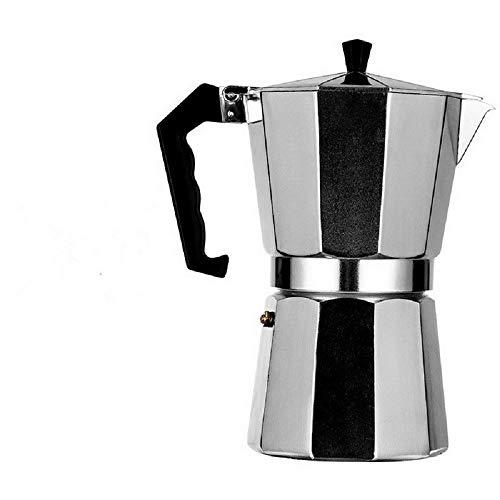 Ryoizen Kaffeekocher, Espressokocher, Espresso-Kocher für 3/6 /12Tassen, für Gas, Elektro-Herd und Ceran-Feld, Mokka-Kaffeekanne