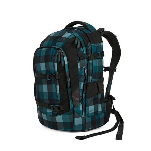 Satch pack Schulrucksack - ergonomisch, 30 Liter, Organisationstalent - Blue Bytes - Blau