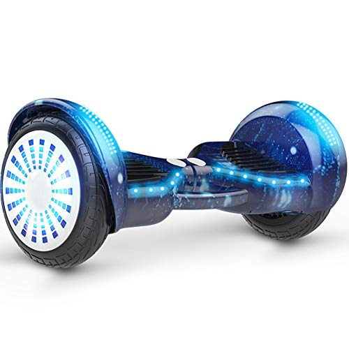 "LXLTLB Hoverboard, Smart Self Balance Scooter Mit Bluetooth, Overboard Mit Selbstsymmetrischer LED Scooter Geprüft, 10\"""
