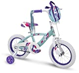 Huffy Bicycle Company 14' Glimmer Girls Bike, Sea Crystal, Quick Connect