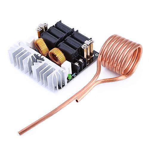 Placa de calentamiento por inducción ZVS, placa de circuito de fibra de vidrio de doble cara, módulo de calentamiento, calentador de controlador de retorno de potencia máxima de 1000 W para