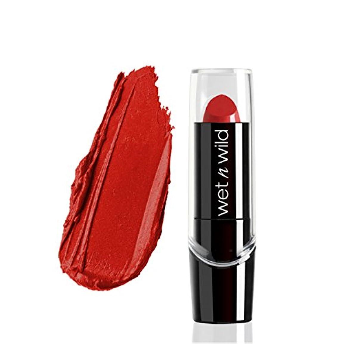 嫌がらせ飼料伝染病(3 Pack) WET N WILD Silk Finish Lipstick - Raging Red (並行輸入品)