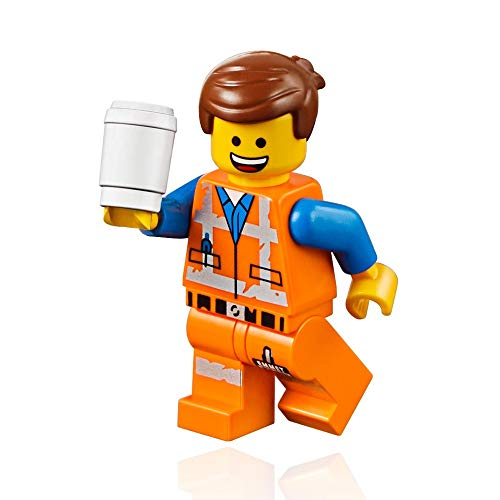 The LEGO Movie 2 MiniFigure - Emmet with two Faces and Coffee Cup 70827