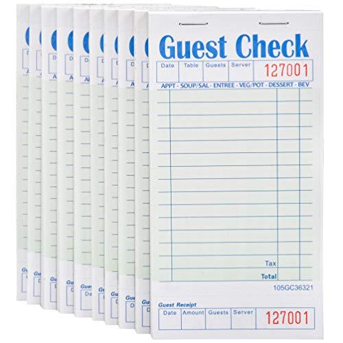 guest checks for restaurants - 9