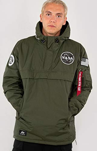 Alpha Industries NASA Jacke Dunkelgrün M