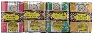 Bee and Flower Bar Soap Gift Set Bars, 4 Count