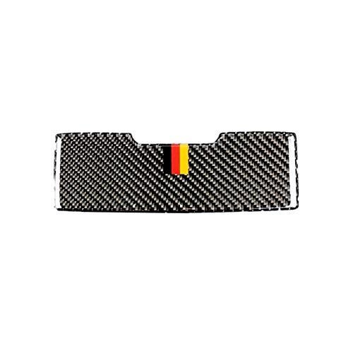 BXSAUISA Accesorios de Coche Interior Ajuste para Mercedes Benz C Class W205 C180 C200 C300 GLC260 Fibra de Carbono Fibra Delantera Panel de luz Gafas de Sol Caja Cubierta Pegatina Pegatina