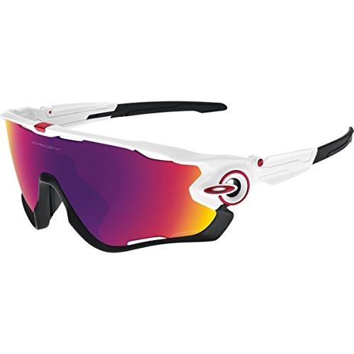 OAKLEY Jawbreaker OO9290 Gafas de sol para Unisex, Blanco Brillo