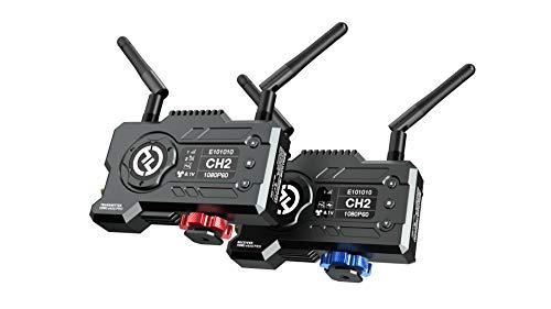 Hollyland Mars 400S PRO [Offiziell] Drahtloses Übertragungssystem, SDI/HDMI EIN- und Ausgang, 0,06 s Latenz, 400ft Reichweite, Videostream bis zu 12 Mbps (Sender & Empfänger, UK)